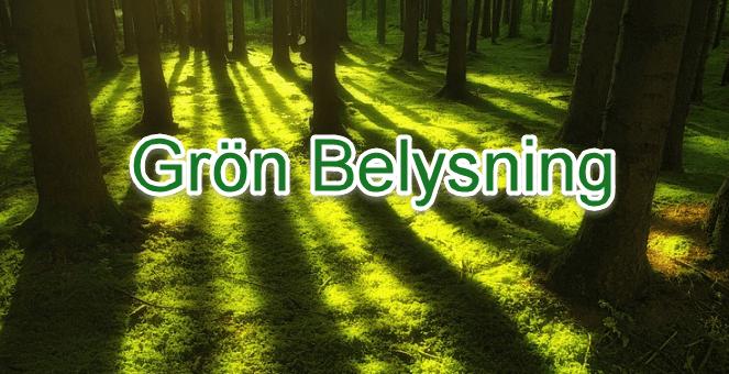 Grön belysning ׀ Spara energi med energisnåla led-lampor