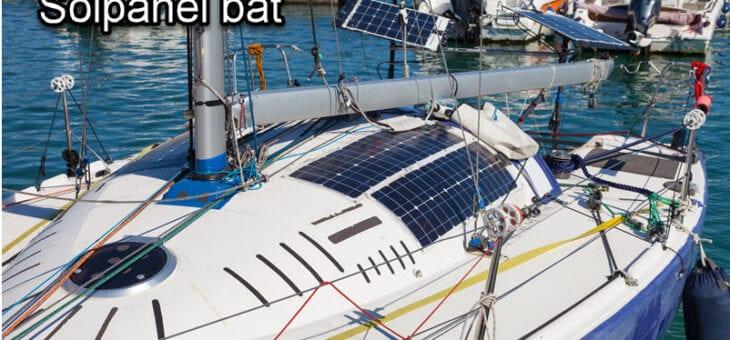 Solceller till båtar: allt du behöver veta